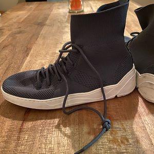 Jslides High Top Knit Sneaker